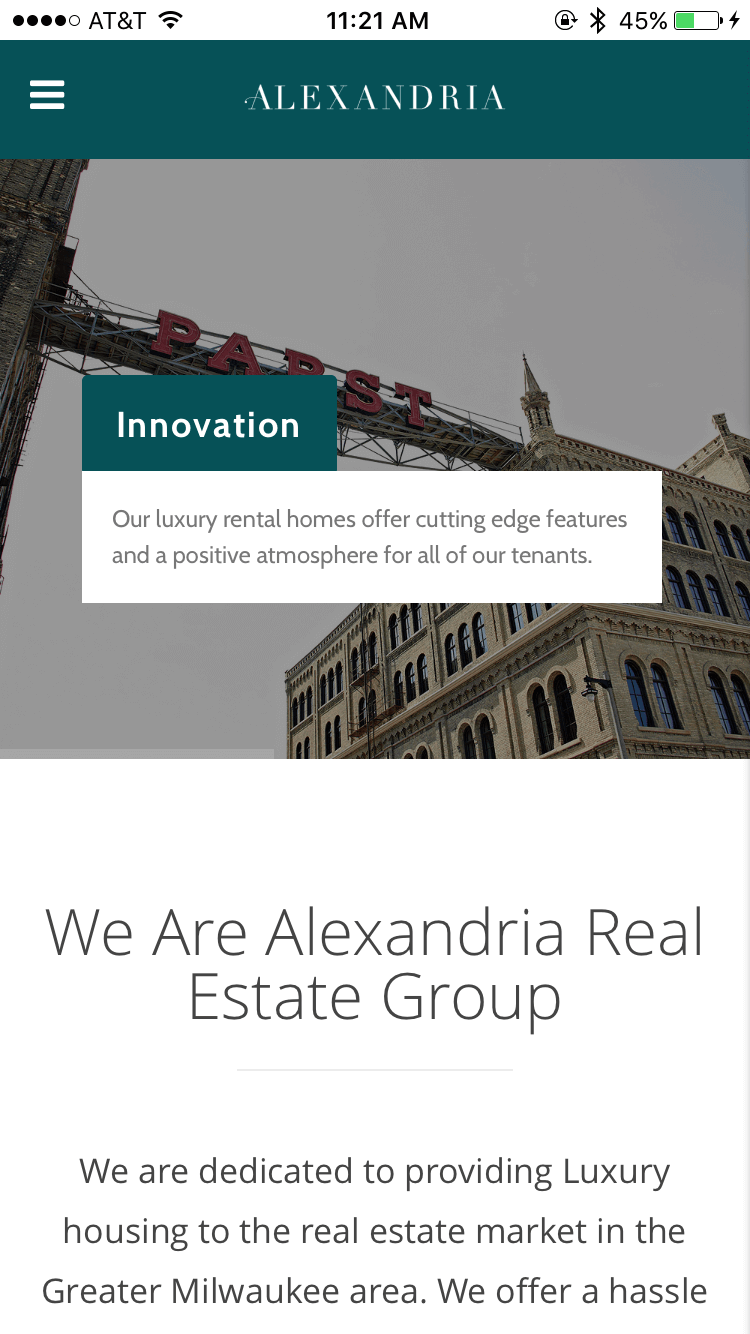 Alexandria Real Estate Group - Main