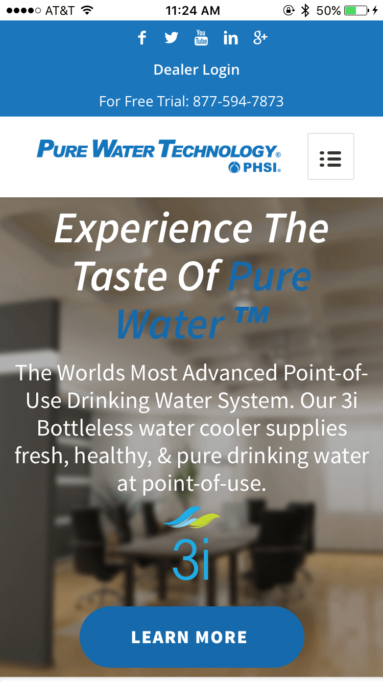 Pure Water Technology - Main