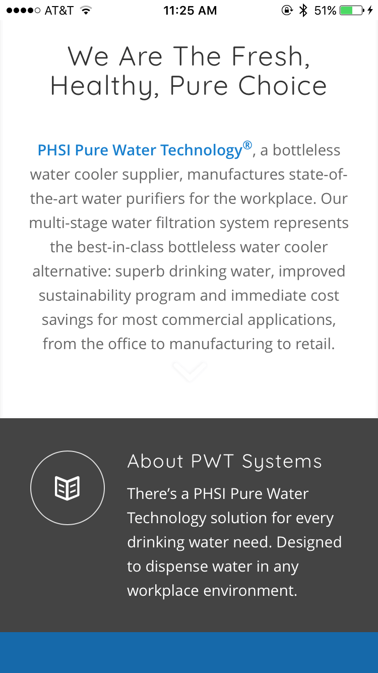 Pure Water Technology - Who We Are