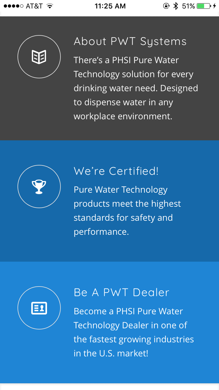 Pure Water Technology - Home