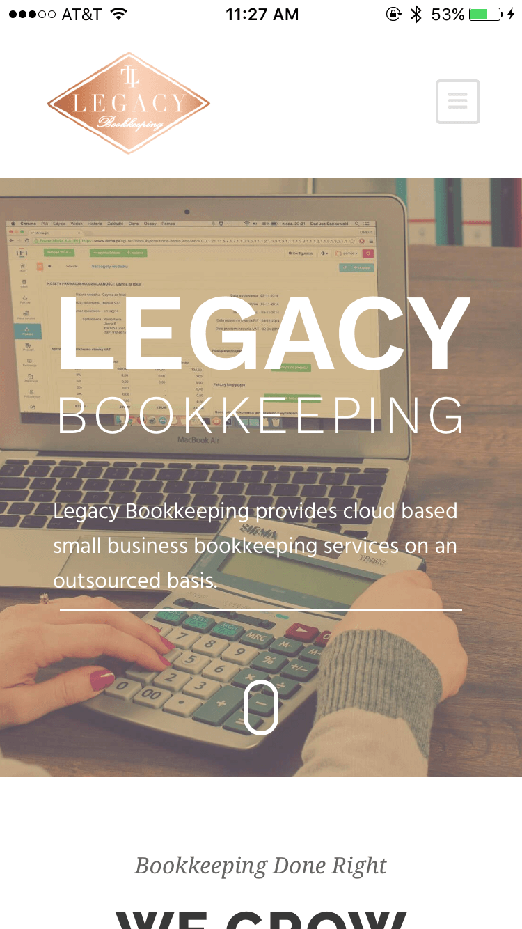 Legacy Bookkeeping