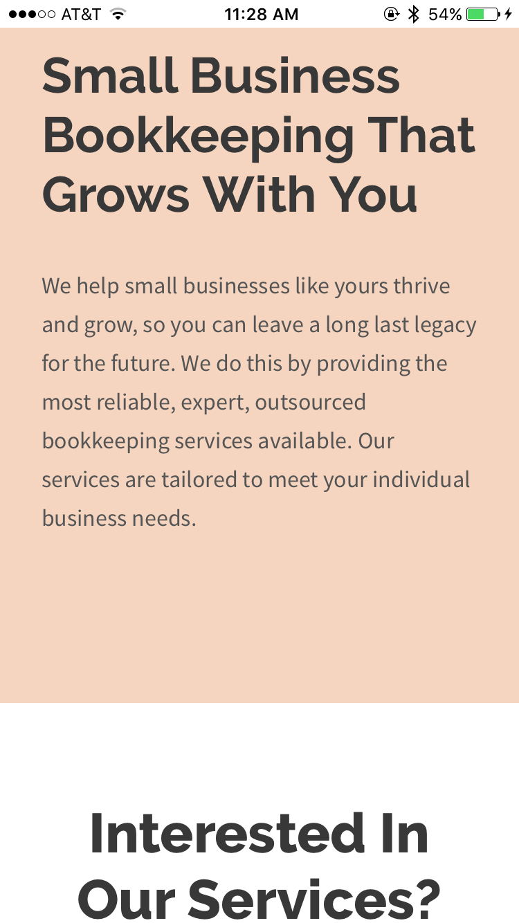 Legacy Bookkeeping - About